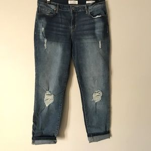 Jessica Simpson Forever Rolled Ankle Skinny Jeans